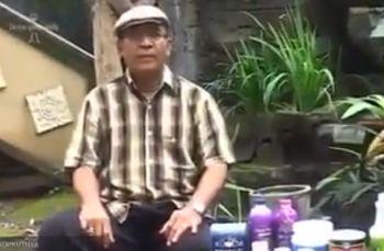 Ketut Sidiana 60Thn, Setelah Detox Prostat sembuh, Nyeri di persendian tidak kambuh lagi, Berat Badan mulai Ideal & Bugar